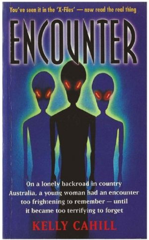 The front cover of Kelly Cahill's book, 'Encounter'