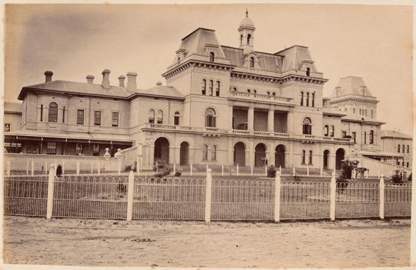 A photo of the Kew Asylum