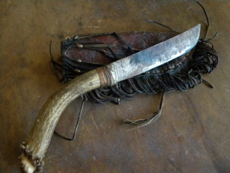 A 'buck' knife, the origin of the phrase, to pass the buck