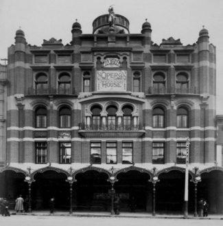 Harry Rickard's 'New Opera House', Bourke Street