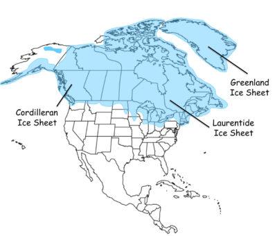 North America during the last Glacial Maximum