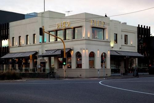 'The Pier' hotel, Port Melbourne.