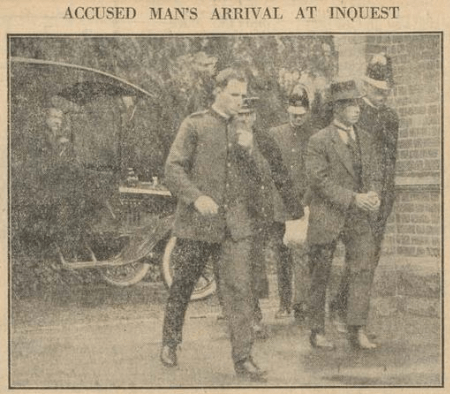 Ross arrives in court for the Alma Tirtschke trial