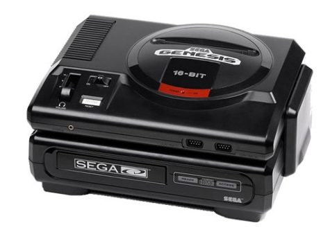 The 'Sega CD', the first CD ROM gaming console