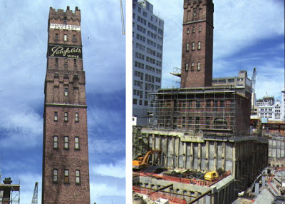 Melbourne Central under construction