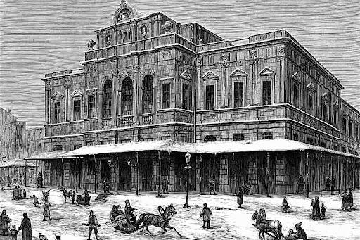 The Maryinsky Theatre.