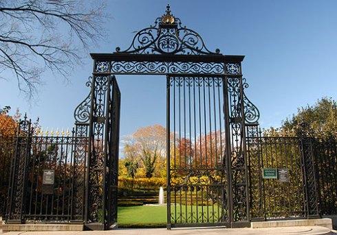 Vanderbilt House gates in Central Park