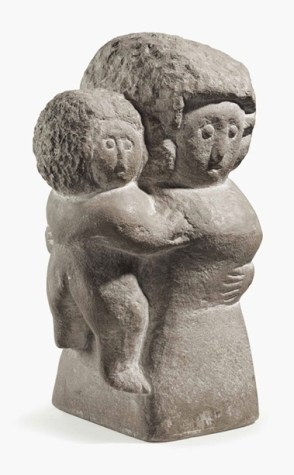 Mother and child, by William Edmondson