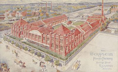 Wertheim's Melbourne factory