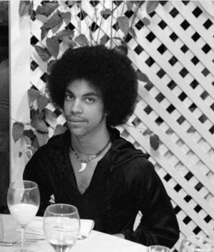 Prince as a young man