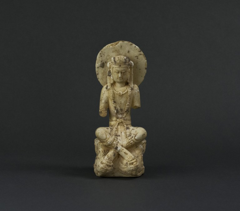 Buddhist Deity, ca. 5th century, AD. Northern Jin Dynasty