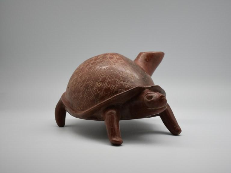 Turtle Effigy Vessel, ca. 250 BC – AD 250.