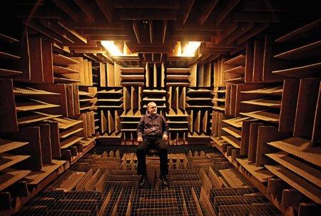 worlds quietest room Museum of the Weird