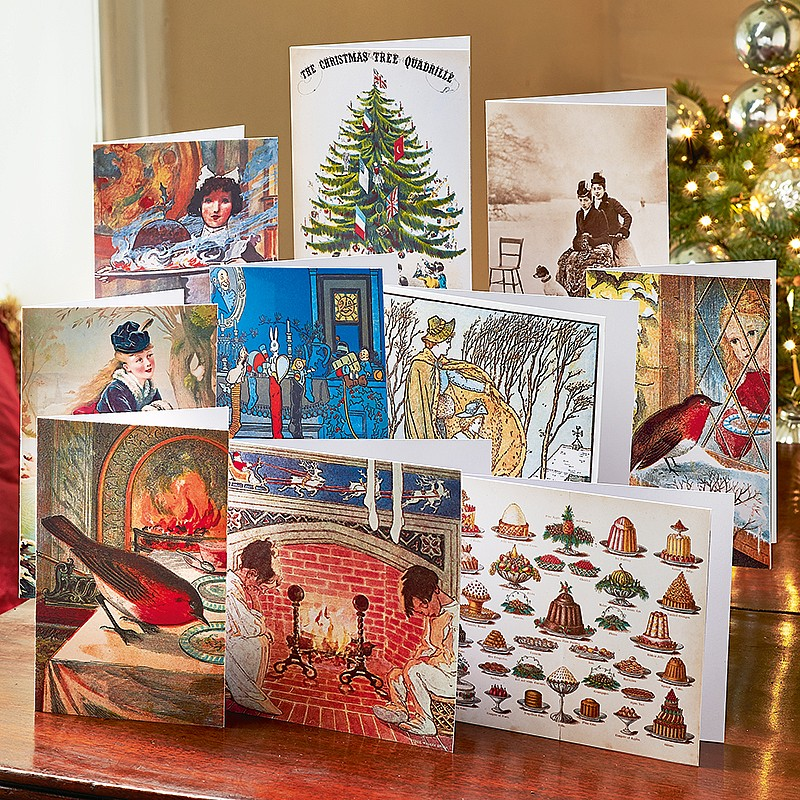Buy British Library Christmas Cards From Museum Selection