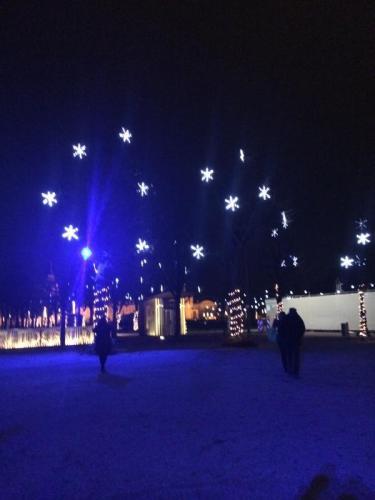 Karlsruhe, weihnachtlich beleuchtet