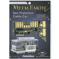 Metal Earth Cable Car