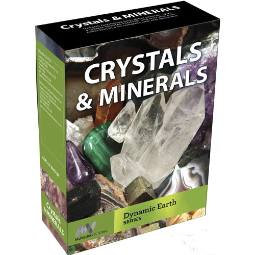 Crystals and Minerals Science Kit