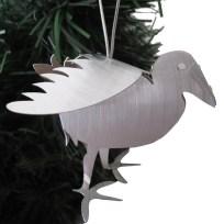 Pukeko Aluminium Hanging Sculpture, Gift, Decoration, Sculpture, Pukeko