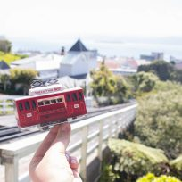 Pop Up Cable Car Postcard