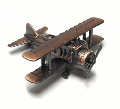 Biplane Pencil Sharpener, Plane, Sharpener, Gift