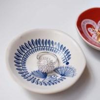 Jo Luping Handmade Porcelain Bowl Fantail