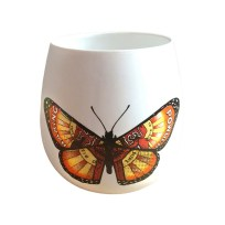 Monarch Ceramic Votive