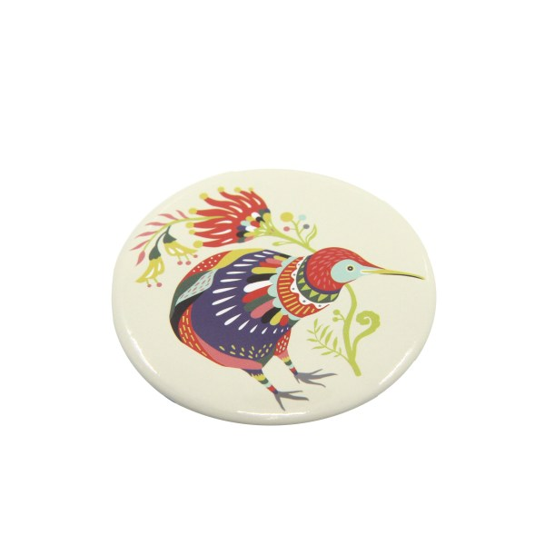 Tofutree, Gift, Mirror, Pocket Mirror, Kiwi