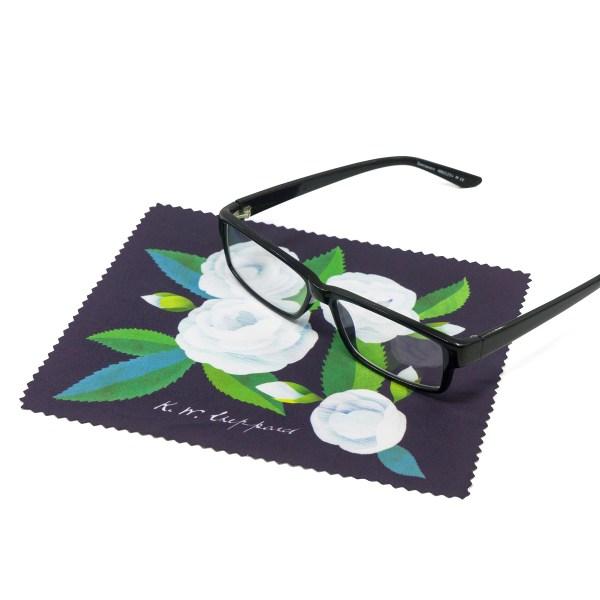 Kate Sheppard Camellia Lens Cloth