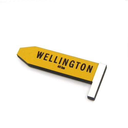 Wellington Road Sign Magnet