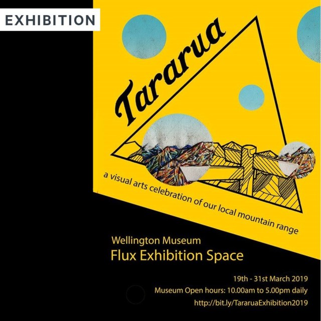 Tararua Tramping Flux Exhibition