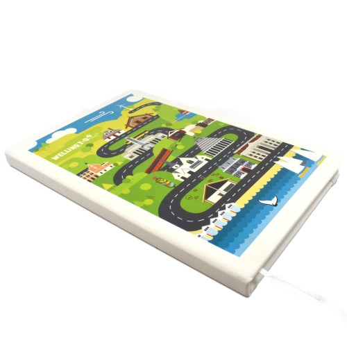 Wellington Architectural Medley Notebook, Wellington, Wellington Harbour, Gift, Notebook
