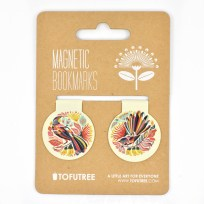 Gift, Tofutree, Bookmark, Huia, Fantail, Stationery