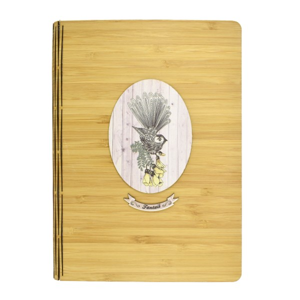 Bamboo, Fantail, Stationery, Notebook, Crystal Ashley