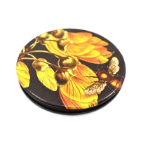 Mirror, Pocket Mirror, Gift, Wolfkamp and Stone, Kowhai