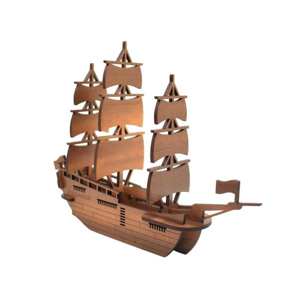 Endeavour, Kitset, Model, Abstract Design, Ship, James Cook,