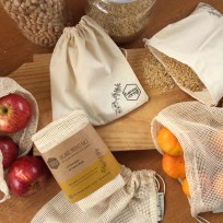 Honeywrap 5 Pack Produce Bags, Eco-friendly, Gift, Gifts, Bag