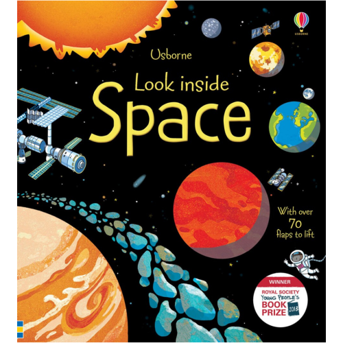 Look Inside Space, Book, Children's Book