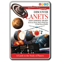 Discover Planets Educational Tin Set