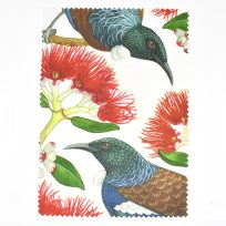 Tui and Pohutukawa Lens Cloth
