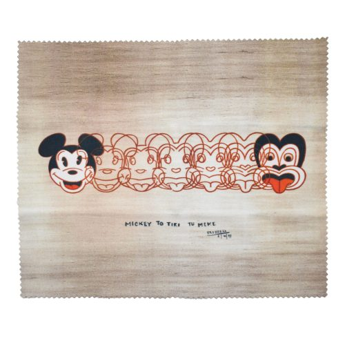 Dick Frizzell Mickey to Tiki Glasses Case Set