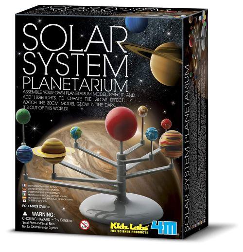Solar System Planetarium Model