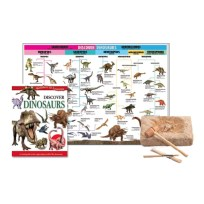 Discover Dinosaurs Educational Tin Set