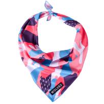 Mesh Dog Bandana - Pink Print