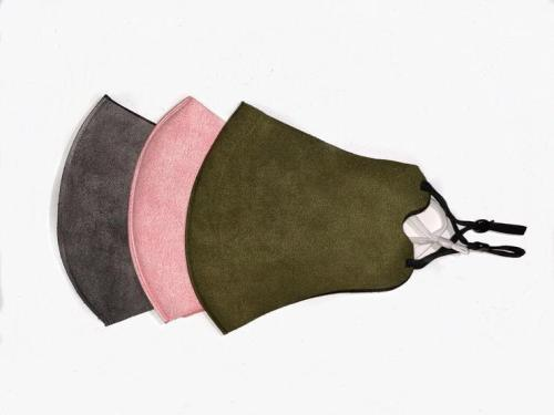 Queen of the Foxes Face Masks - Pack of 3 Blush, Olive, Charcoal