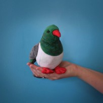 Kereru Soft Toy with Sound