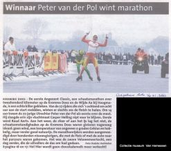 """Wijde Aa - Kromme Does, finish """"Henk Angenent Classic"""""""