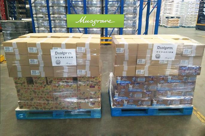 Supermercados Dialprix dona 1.000 unidades de alimentos para desayunos
