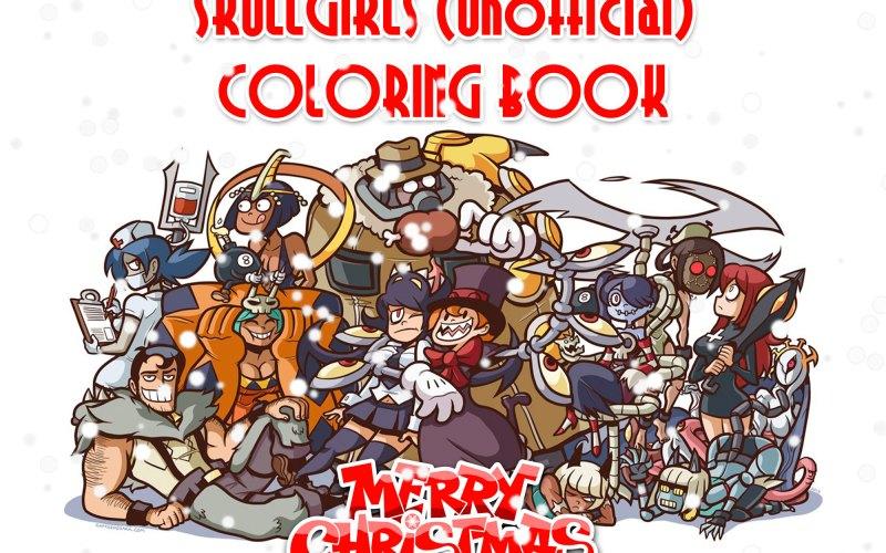 Skullgirls unofficial Coloring Book: colora i Personaggi del celebre picchiaduro!
