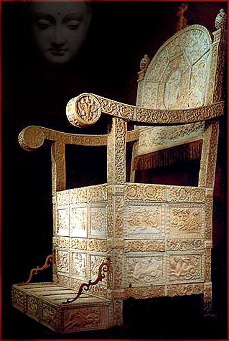 buddhas empty throne