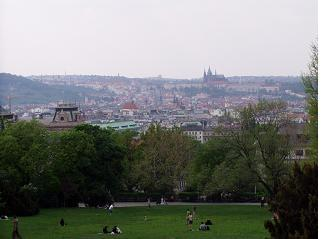 Prague from the Park